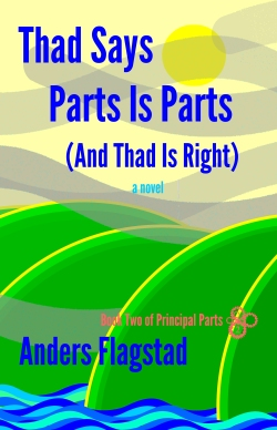 Thad Says Parts is Parts And Thad is Right Front Cover